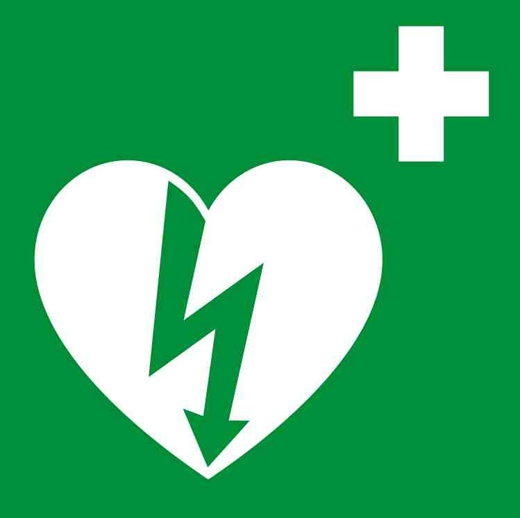 Ilcor aed sign
